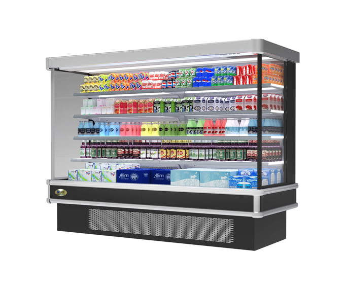 Supermarket Fruits and Vegetables Open Commercial Retail Refrigerator(FM-A)